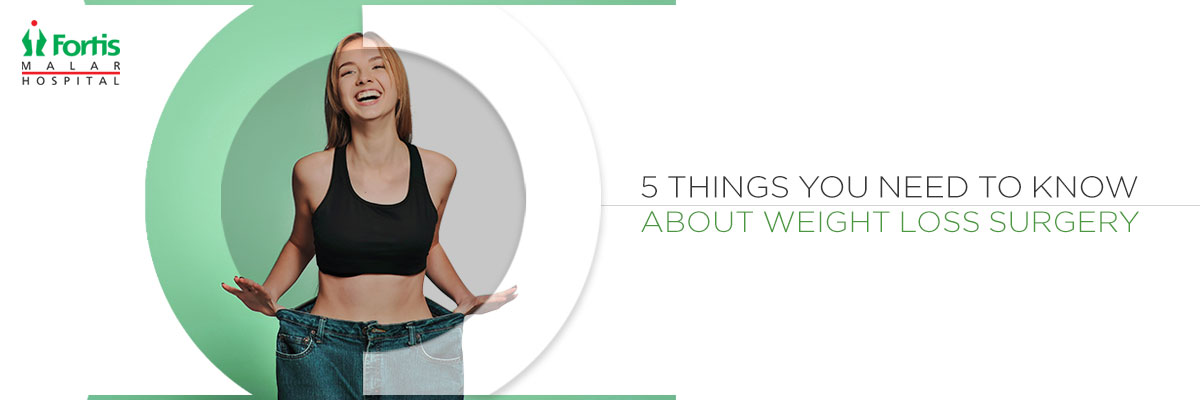 5 things about weight loss surgeries