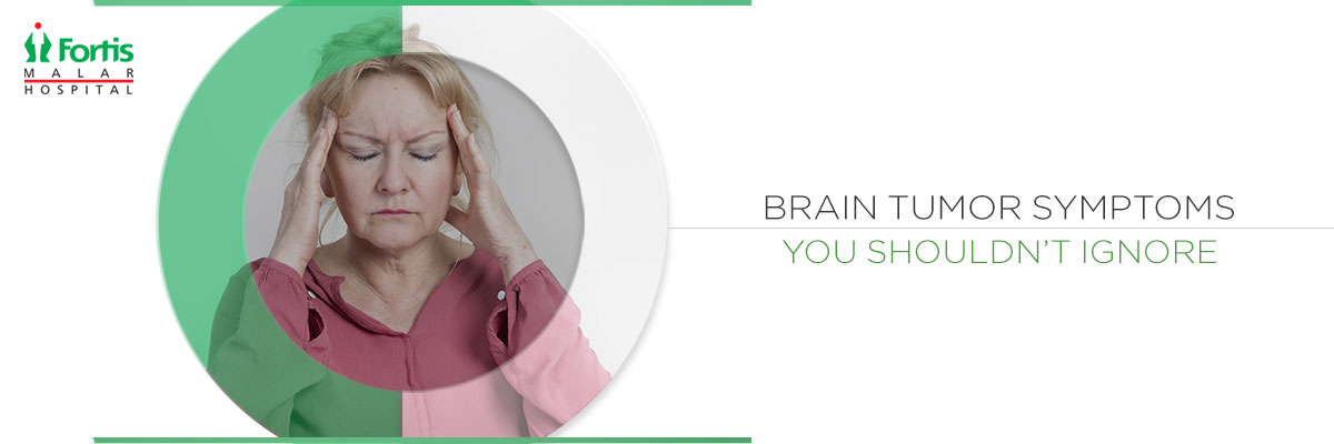 brain tumor symptom