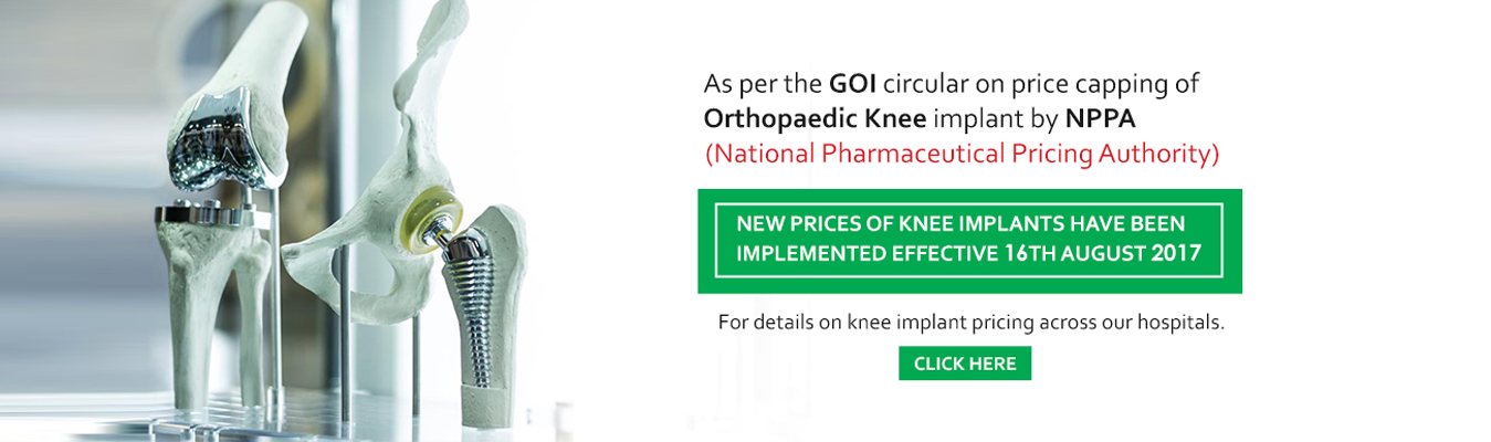 Price capping of knee implants by NPPA